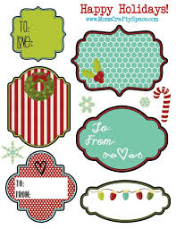 Christmas Tag Template Gift Tag Label Under Fontanacountryinn Com