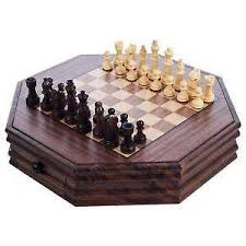 Wooden Board Game Sets Wooden Checkers eBay 98