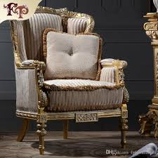 2018 Italian Living Room Furniture Classic Wood Furniture Royal