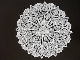 Oval Crochet Doily Patterns Free Simple 48 Free Pineapple Crochet Doily Patterns You Would Love