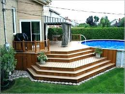 above ground swimming pool ideas. Fine Swimming Pool  To Above Ground Swimming Pool Ideas