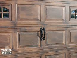 Carriage Garage Doors Diy Faux wood carriage door Carriage Garage