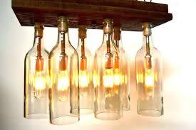 professional diy wine bottle chandelier design decoration
