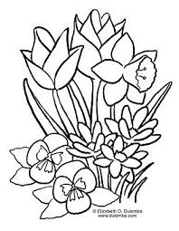 Spring Themed Pages For My Children Spring Coloring Pages