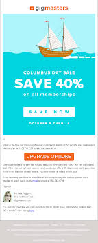 Top 7 Columbus Day Email Templates