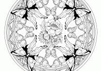 Free Mandala Coloring Pages Animals Printable Educations For Kids