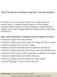 hardware engineer resumes