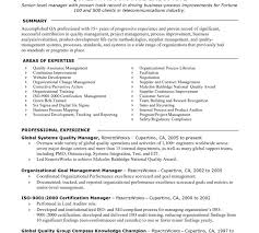 test manager resume sample india resume template free