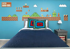super mario bros giant wall decals super theme wall decal shop for super  theme fathead wall
