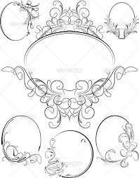 oval frame tattoo design. Attractive Oval Tattoo Frame Collection - Picture Design . P