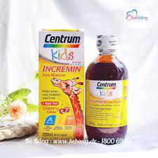 Vitamin tổng hợp Centrum Kids Mỹ 200ml (Trẻ từ 6 tháng) – Bé Bồng