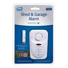 garage door alarmWireless Shed and Garage Alarm  Mounted Siren  SABRE