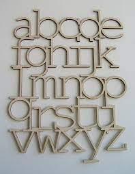 wood alphabet wooden alphabet