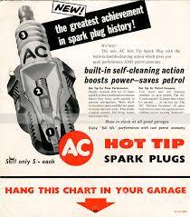 Ac Spark Plug Application Chart