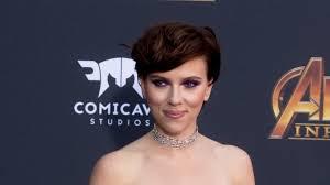 Scarlett Johansson Reveals Huge Back Tattoo At Avengers Infinity