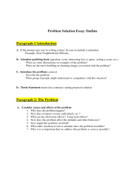 solution essay problem solution format and sample ideas college x gallery of problem solution essay format