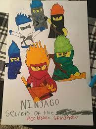 Ninjago Season 11 Drawing (Page 1) - Line.17QQ.com