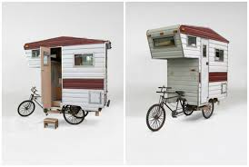 Bike Camper Trailer This Camper Is A Tiny Caravan For Your Bicycle