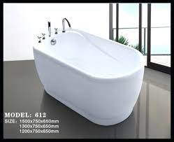 small bathtub sizes small size colorful free standing acrylic baby bathtub with 5 piece faucets small small bathtub sizes