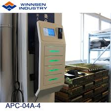 china wall mounted pin code operated cell phone charging kiosk with 4 lockers china restaurant mobile charging station fast mobile phone charger station