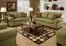Lime Green Living Room Brown And Green Living Room