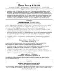 Example Rn Resume Graduate Nurse Resume Example RN Pinterest Resume Examples 5