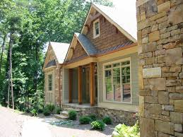 Contemporary Amicalola Cottage Rustic Style House ...