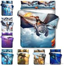 how to train your dragon design bedding set duvet cover set of quilt cover