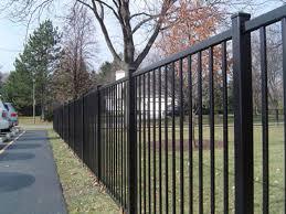 Metal Rail Fence Black Metal Fence Metal Fence Post Caps High