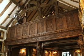 oak panelling panelled rooms hand