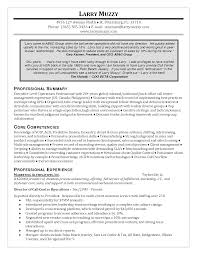 Sample Resume Call Center Director Professional Resumes Example