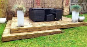 decking on a slope save building decking on sloping ground