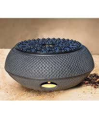 womens matte black matte black cast iron teapot warmer alternate image 2