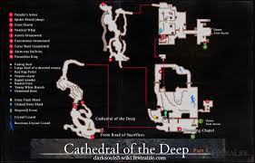 cathedral of the deep maps