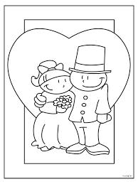 Kleurplaat 40 Jarig Huwelijk