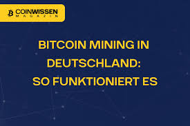 Maybe you would like to learn more about one of these? Bitcoin Mining In Deutschland So Funktioniert Es Coinwissen