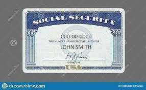 547 Social Security Template Photos ...
