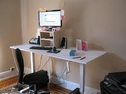 Supreme Lack Coffee Table Standing Desk Ikea Hackers Standing Desk Hack  Hostgarcia in Ikea Standing Desk