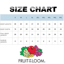 Fruit And Loom Size Chart Details About Pack Of 10 30 50 100 Fruit Of The Loom Mens Black S To Xl Wholesale T Shirt Tee
