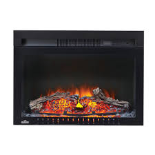 napoleon cinema 24 inch built in electric fireplace insert with