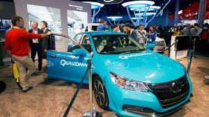 Image result for Qualcomm Technologies, Inc., today demonstrated dynamic electric vehicle charging (