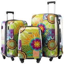 Light Luggage Sets Amazon Com Seanshow Lightweight Luggage Set 3 Pcs Spinner