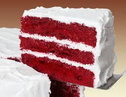 Si Merah Mulus Red Velvet Cake