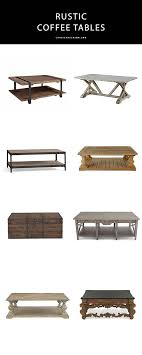 20 best rustic coffee tables for your