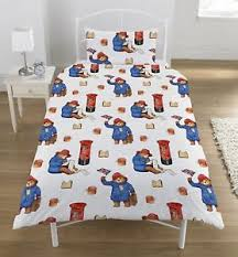 NEW PADDINGTON BEAR MOVIE SINGLE DUVET QUILT COVER SET BOYS GIRLS ... & Image is loading NEW-PADDINGTON-BEAR-MOVIE-SINGLE-DUVET-QUILT-COVER- Adamdwight.com