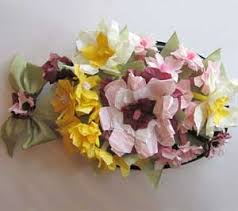 Paper Flower Hats Recycled Crafts Microwave Dinner Tray To Flower Pillbox Hat