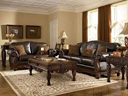 Ashley leather living room furniture Dark Leather Image Unavailable Image Not Available For Color Ashley North Shore Leather Sofa Amazoncom Amazoncom Ashley North Shore Leather Sofa In Dark Brown Kitchen
