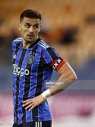 ARNHEM - Dusan Tadic of Ajax during the Dutch Eredivisie match... Foto di  attualità - Getty Images