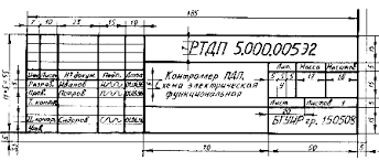 Структура пз научно исследовательской дипломной работы Образец заполнения основной надписи дополнительной графы к ней дубликат обозначения документа а также размеры ограничительных рамок показаны на рис