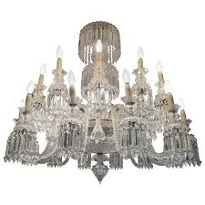 amazing crystal chandelier attributed to baccarat france 1870s for
